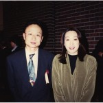 With Seiko Hashimoto, Current member of Japanese Parliament and Bronze medalist in 1992 Winter Olympics 2002