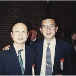 With Toshihiko Seiko, winner of Fukuoka,Boston, London, and Chicago marathons 2002